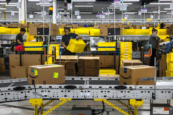 "Some of Amazon's warehouse employees work as ""FC ambassadors."" The ""FC"" stands for fulfillment center, which is what the company calls it warehouses."