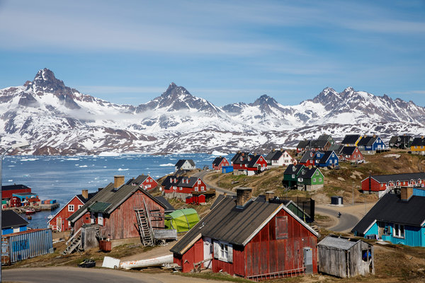 Greenland is a semiautonomous part of the kingdom of Denmark. Its government handles everything except foreign policy and defense.