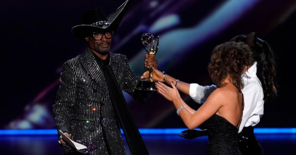 Billy Porter Makes History With His Emmy Win for