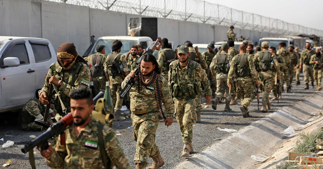 Image result for Kurdish forces struggle to contain world's unwanted ISIS prisoners in Syria