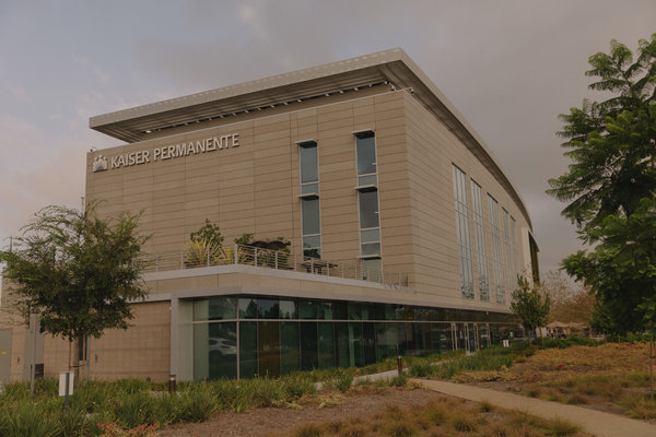 The Kaiser Permanente medical center serves the neighborhoods of Crenshaw and Baldwin Hills in Los Angeles.