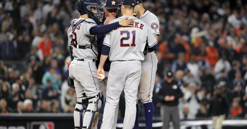 Astros Take Back Lead From Yankees: Live Updates