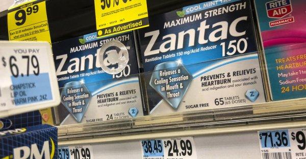 Zantac Recall Widens as Sanofi Pulls Its Drug Over Carcinogen Fears