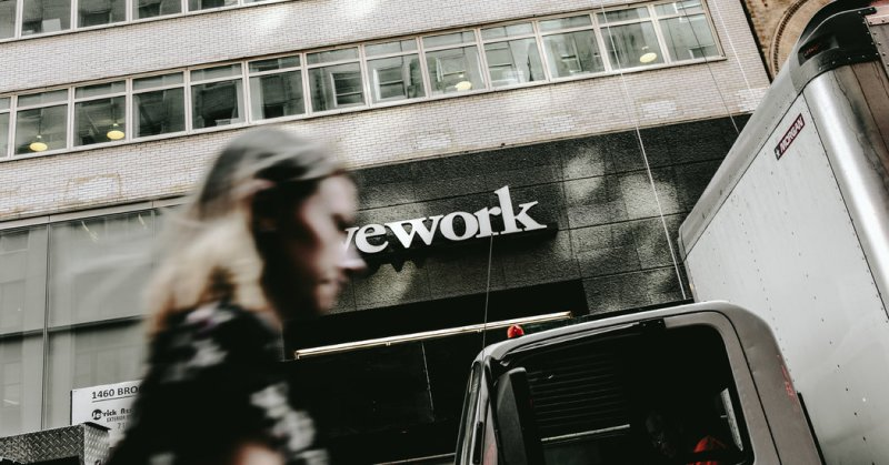 WeWork, Rejected by Wall Street, Accepts Lifeline From SoftBank
