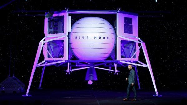 Blue Origin Taking Team Approach to Building NASA Moon Lander