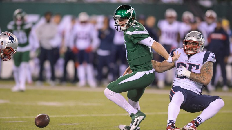 Sam Darnold Commits Five Turnovers as Jets are Crushed by Patriots