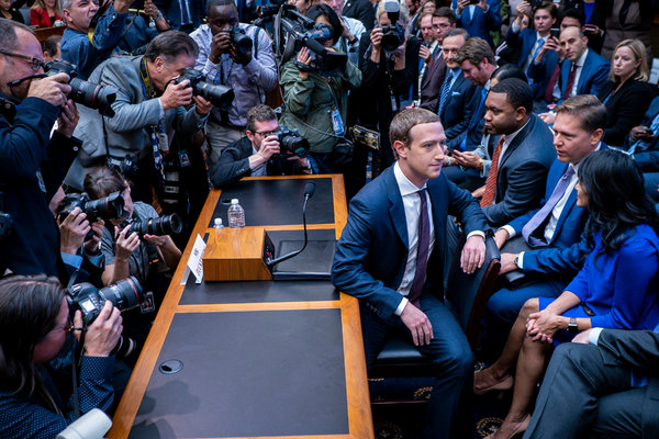 Zuckerberg Defends Facebook Cryptocurrency Project to House Committee