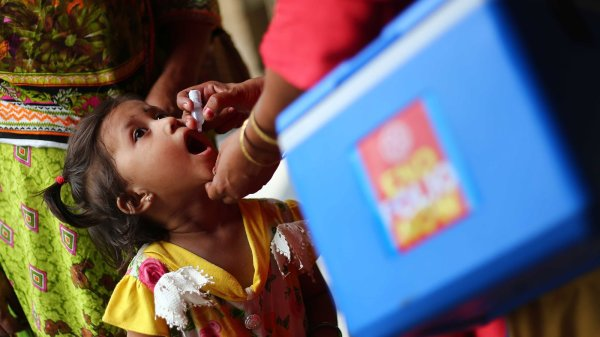 Two Strains of Polio Are Gone, but the End of the Disease Is Still Far Off