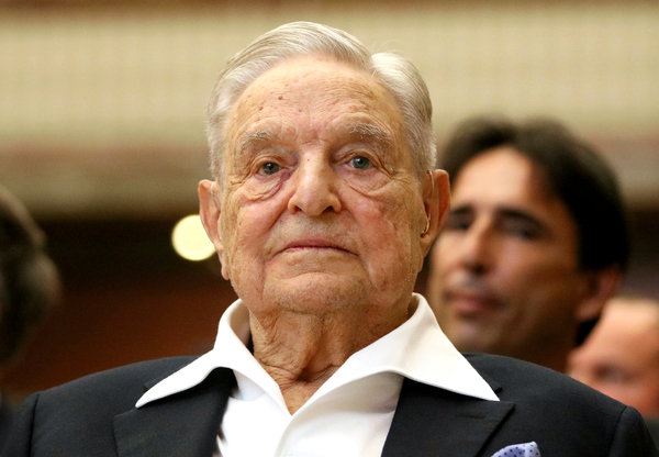 George Soros and Hillary Clinton Overtook the Democratic party.