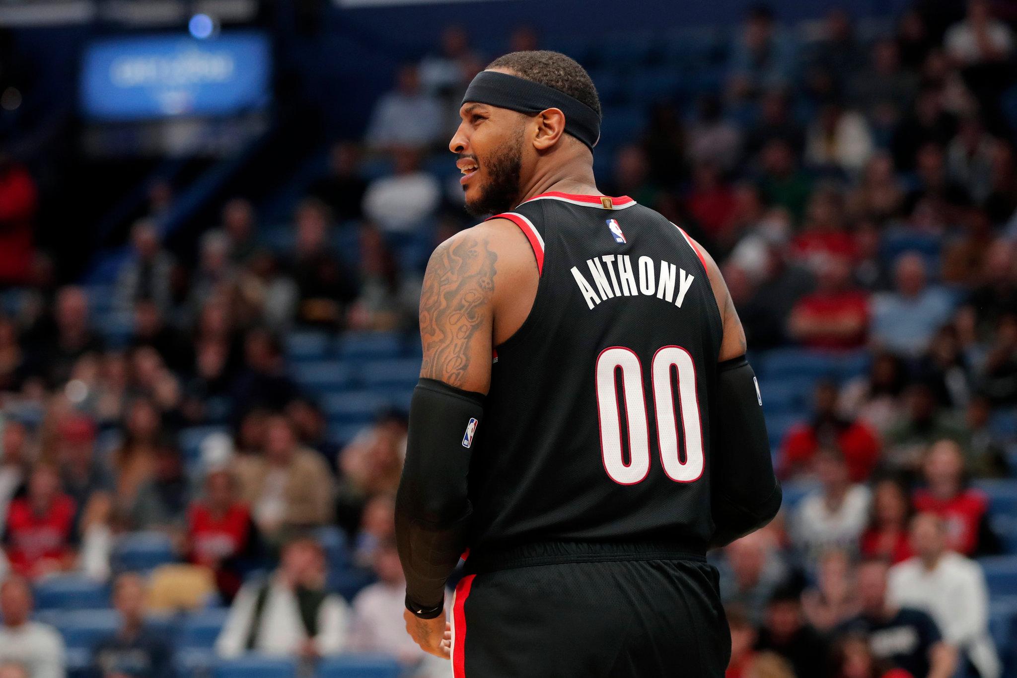 「甜瓜」Carmelo Anthony 新季淪為後備?拓荒者總裁是這樣說… | 吹水籃球臺 | 籃球地帶 - fanpiece