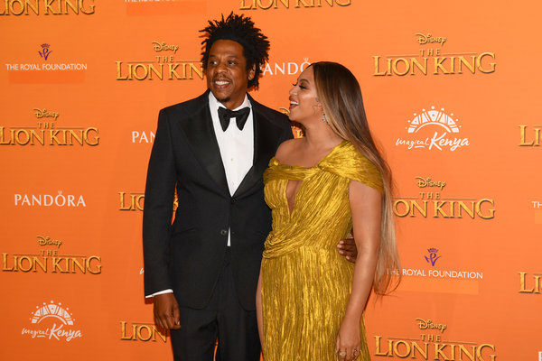 Jay-Z and his wife, Beyoncé.