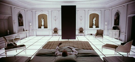 """A still from Stanley Kubrick's """"2001: A Space Odyssey"""" (1968)."""