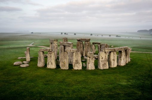 Stonehenge in Wiltshire, England, photographed in 2016.