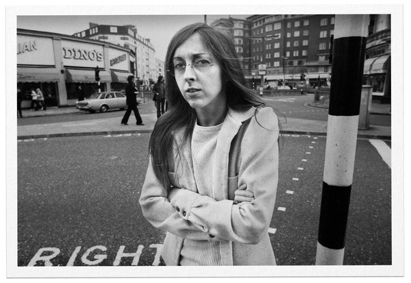 """Sill in London on tour to promote her second album, """"Heart Food,"""" which was released in 1973.In a sea of male musicians, Sill emerged as one of the few women who wrote and sang their own songs."""