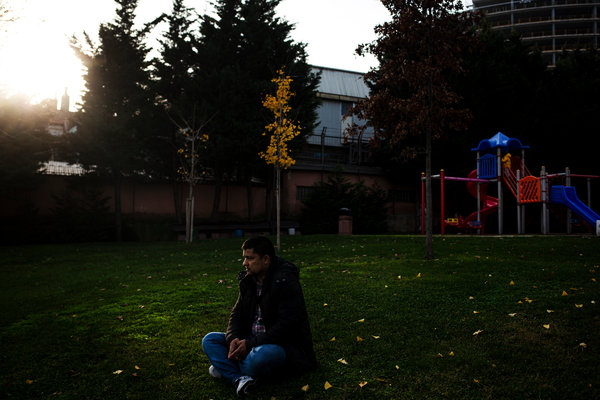 Abdurahman Tohti, a Uighur living in Istanbul, saw his son in a video shared by a stranger on a Chinese social media platform.