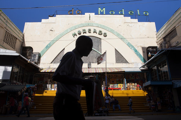The Mercado Modelo is a massive market where you can bargain for art and dominoes and other local goods and souvenirs.