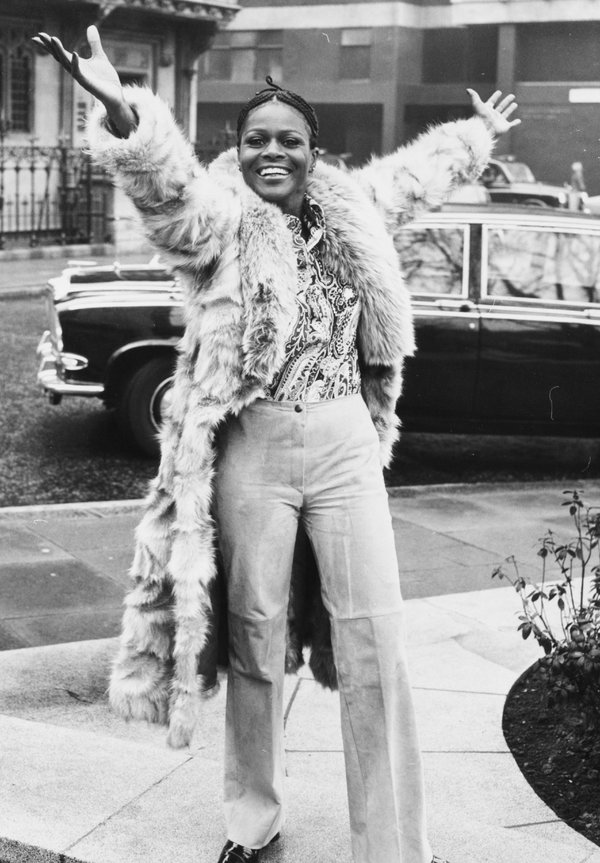 Cicely Tyson in London in 1973. She was critical of films and television programs that cast Black characters as criminal, servile or immoral.