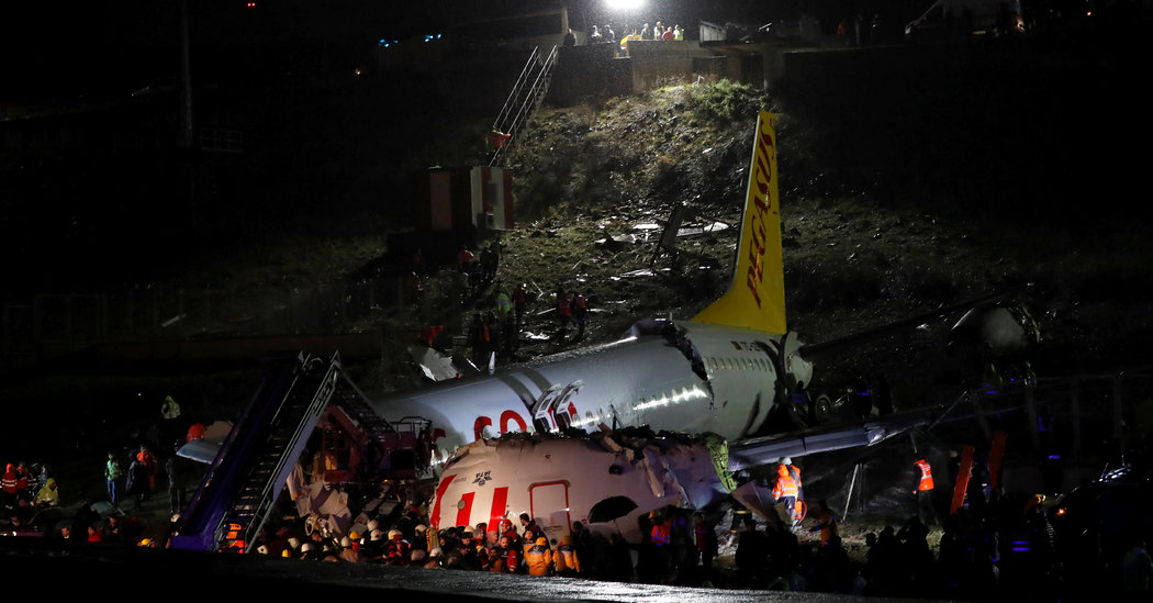 52 Injured, No Fatalities After Plane Skids Off Runway In Istanbul