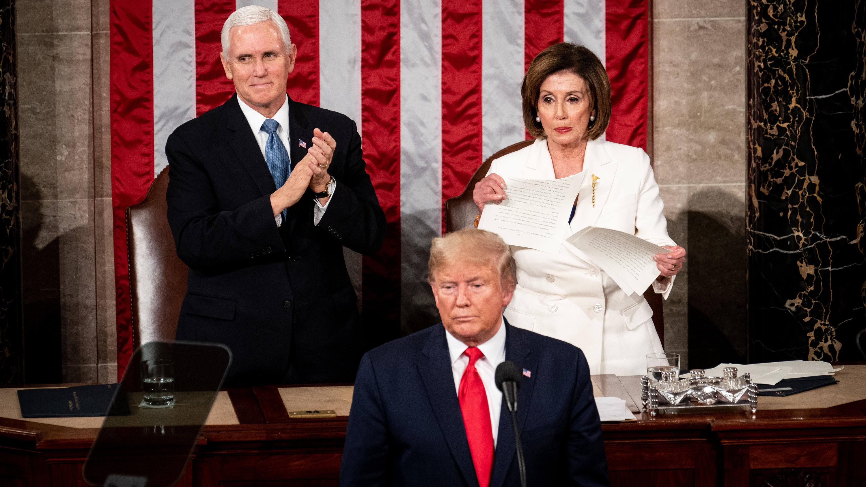 Trump And Pelosi Exchange Snubs At The State Of The Union Address