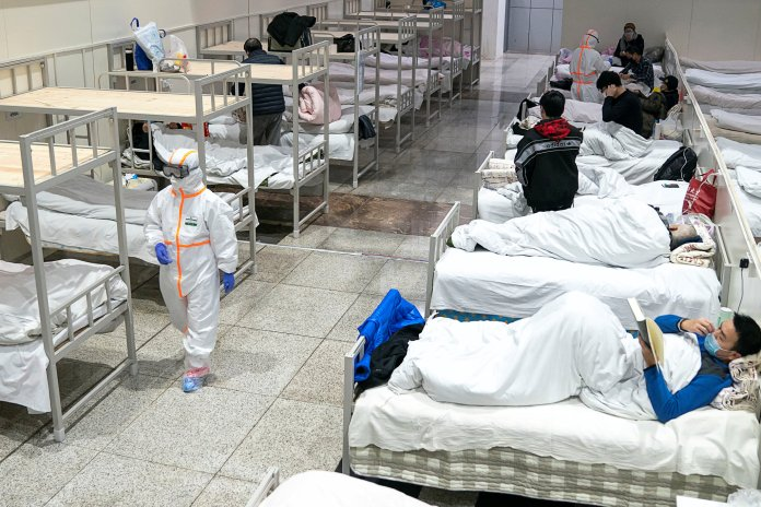 Huge Shelters for Coronavirus Patients Pose New Risks, Experts ...
