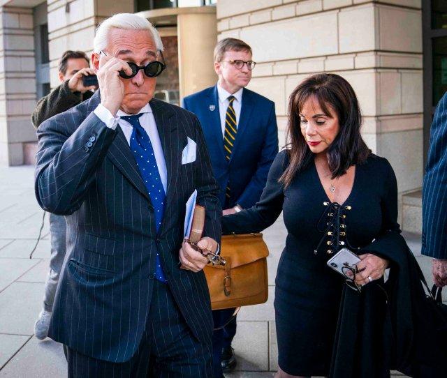 Prosecutors Quit Roger Stone Case After Justice Dept Intervenes