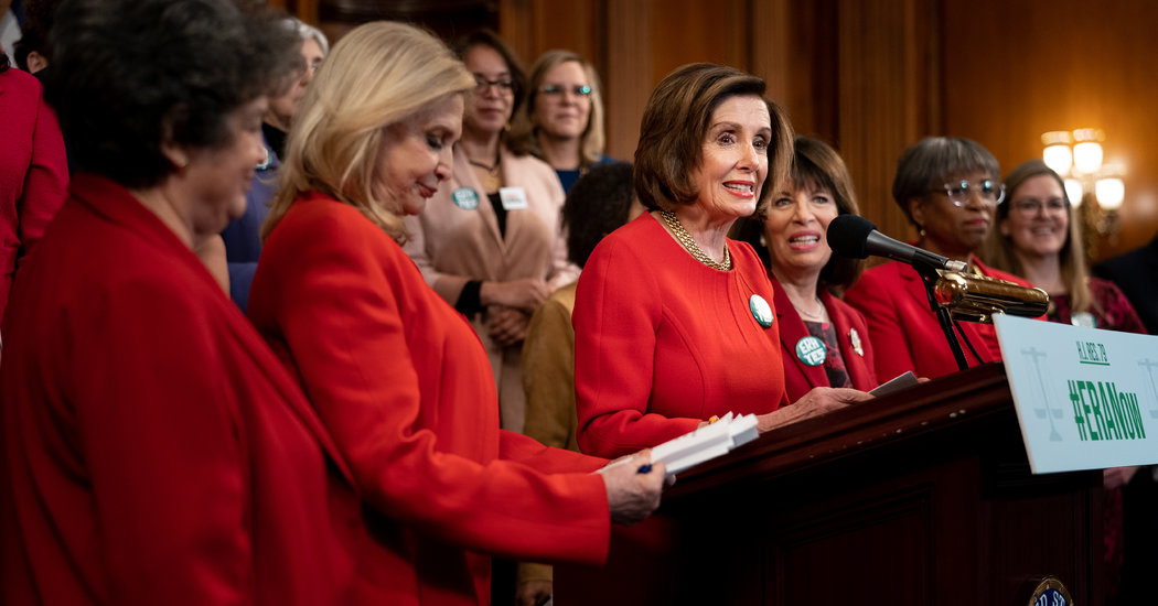 House Votes to Extend Deadline to Ratify Equal Rights Amendment