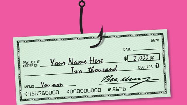 Got an Unexpected Check in the Mail? It May Be Fake - The New York