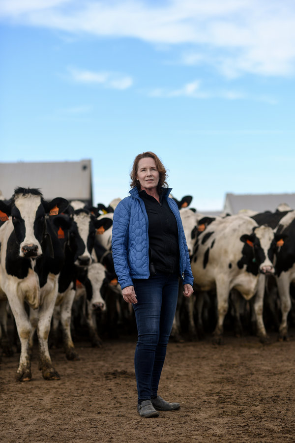 Mary Kraft employed two undocumented Mexican brothers for a decade at her Quail Ridge Dairy in Colorado before they decided to return to Mexico.