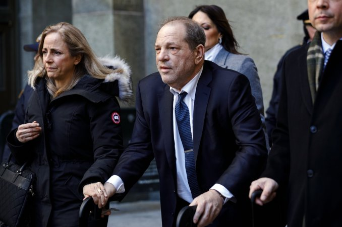 Image result for Harvey Weinstein moved to jail after undergoing a four-hour heart surgery (Photos)