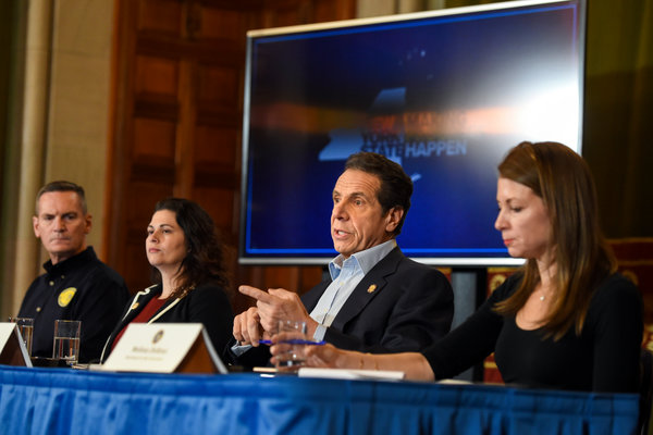 New York Governor Declares State Of Emergency Over Corona Fears