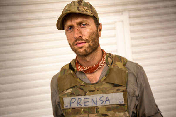 """Matthew Heineman, who directs """"The Trade,"""" during production of his Oscar-nominated documentary feature """"Cartel Land."""""""