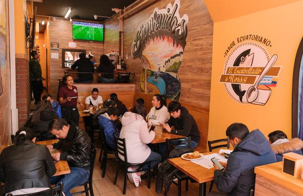 ecuadorean soup inspired a restaurant