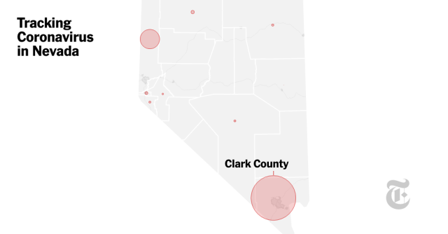 Coronavirus in Nevada: Map and Case Count - The New York Times