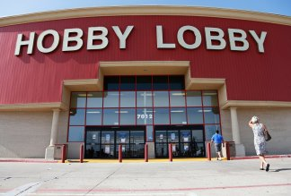 Shoppers Call for Boycott of Hobby Lobby Over 'USA Vote Trump' Display