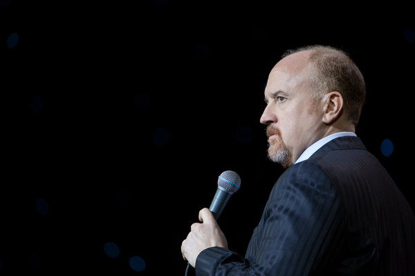 Louis C.K. in 2017. He dropped his new special on Saturday.