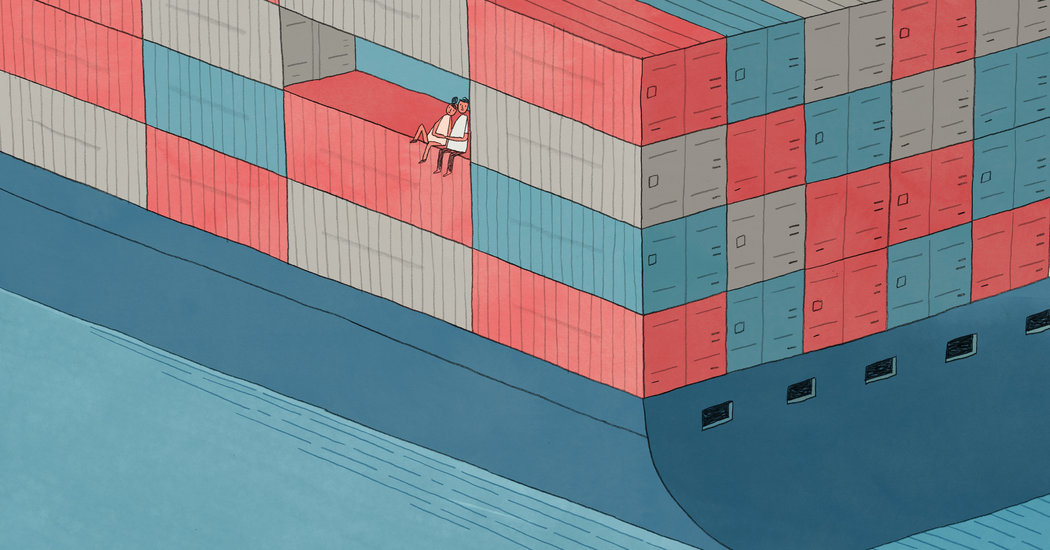 Relationships Move Fast on a Slow Cargo Ship