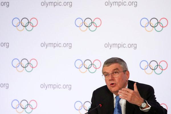 IOC会長のトーマス・バッハは、東京大会はキャンセルされないと述べた。