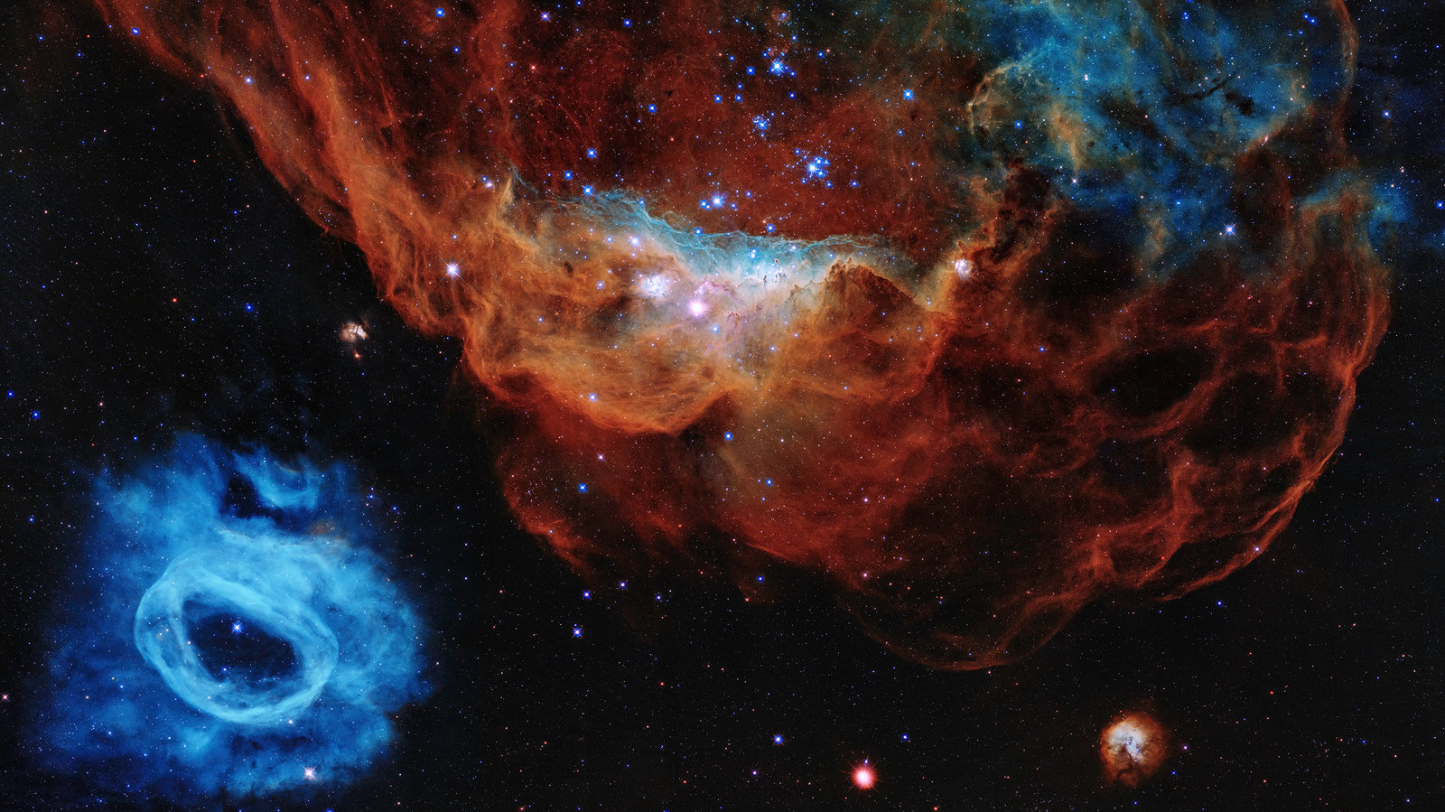 Hubble Space Telescope Releases New 30th Birthday Image