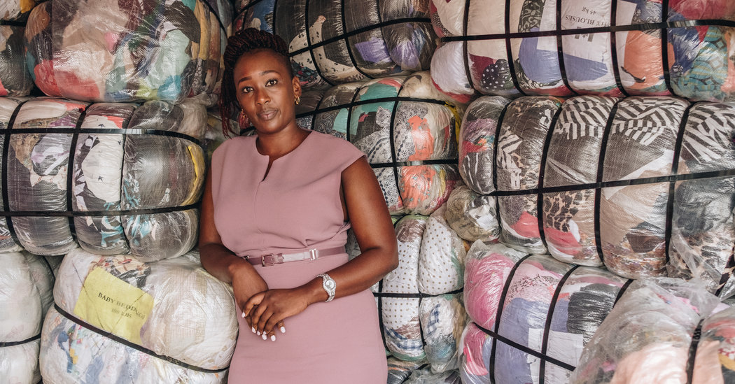Used Clothes Ban May Crimp Kenyan Style. It May Also Lift Local Design.
