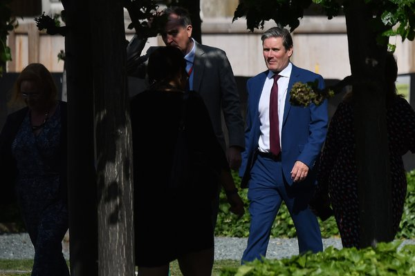 Keir Starmer comes from the more moderate wing of the Labour Party.