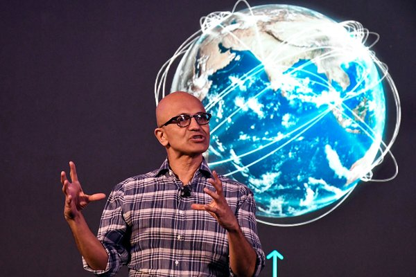 Satya Nadella, the chief executive of Microsoft, said he worried about the loss of in-person interaction.