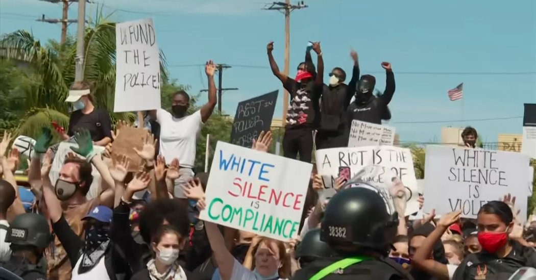George Floyd Protests Live Updates: Fury and Frustration in Cities Across U.S.