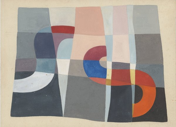 "Taeuber-Arp's ""Composition à Formes de 'S'""(Composition With ""S"" Forms), from 1927, is one of the works in the online Hauser & Wirth gallery show."