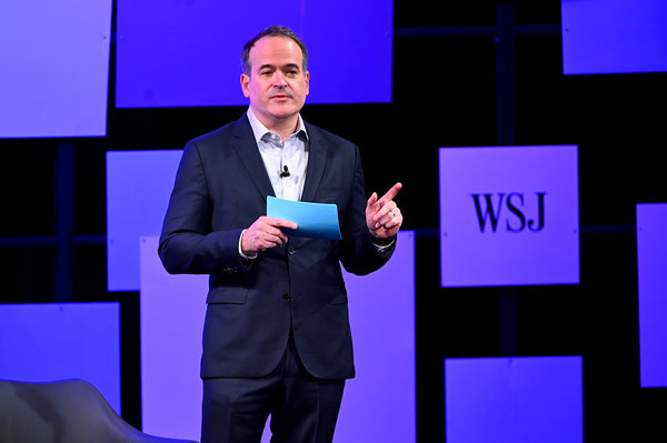Matt Murray was named the editor in chief of The Wall Street Journal in 2018.