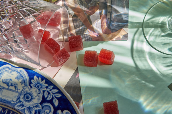 """""""Fruit notes"""" (fancy gummies) from Coda Signatures."""