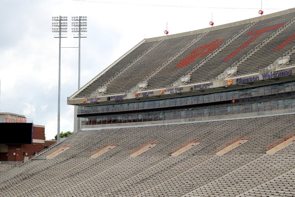 If there is a season, it is expected there will be no fans in the stands at Clemson, or anywhere else.