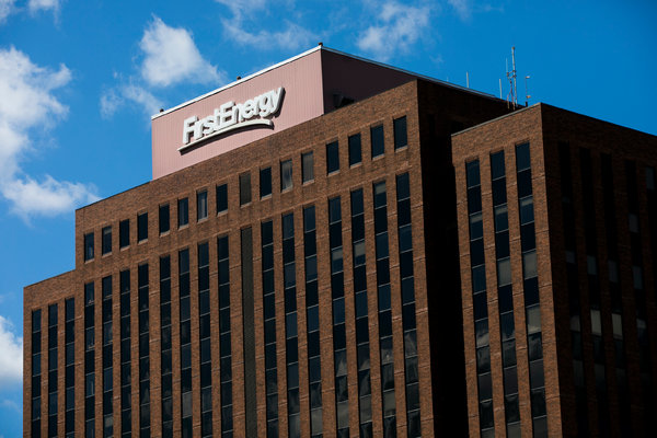 FirstEnergy's headquarters in Akron, Ohio.