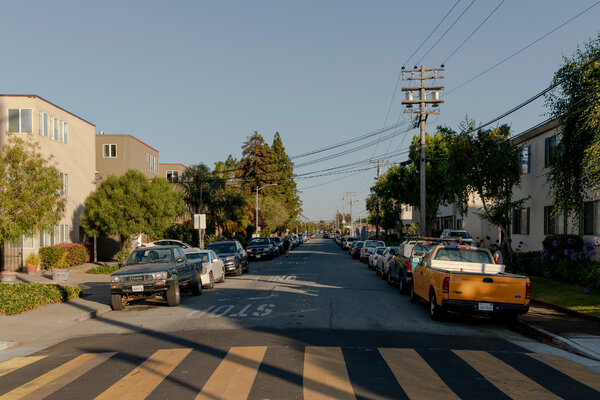 The North Central neighborhood of San Mateo, California, on July 28.