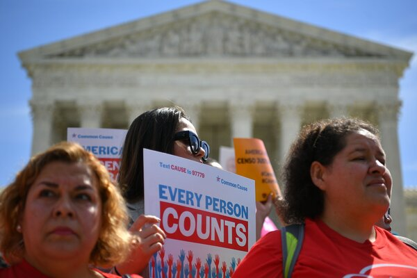 A census rally outside the Supreme Court last year. Experts inside and outside the Census Bureau fear that the Trump administration wants to tailor population figures for maximum political benefit.