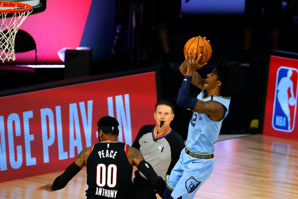 Ja Morant, the presumptive Rookie of the Year Award winner, had 35 points for the Memphis Grizzlies.